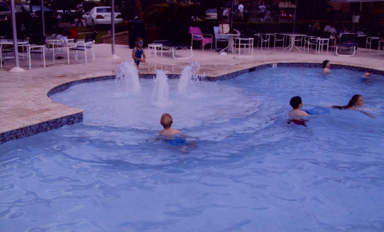 Thompson swimming pools waterfeatures for Phoenix swimming pool white city
