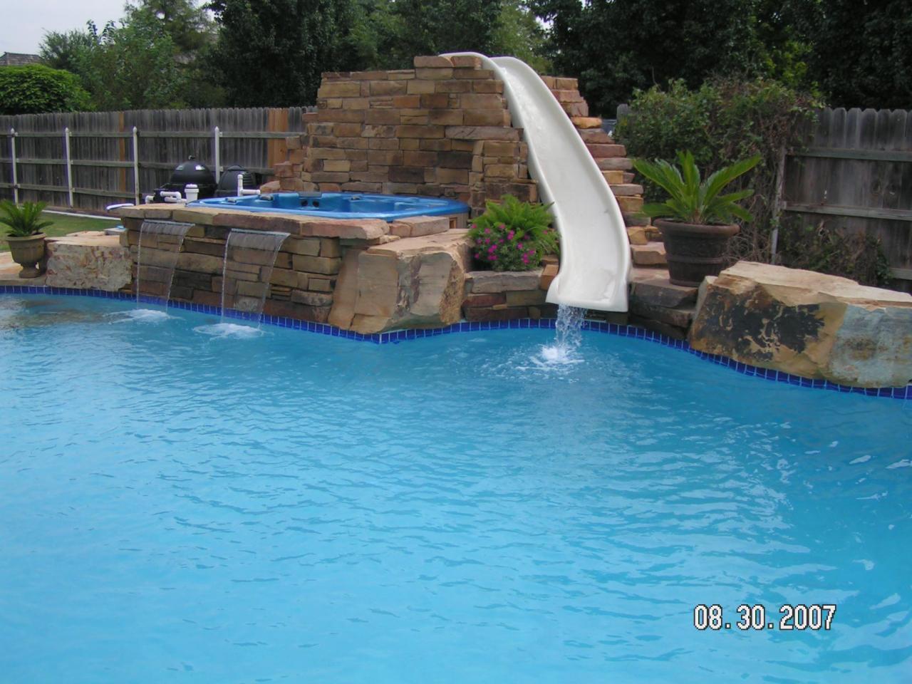 thompson swimming pools free form pools